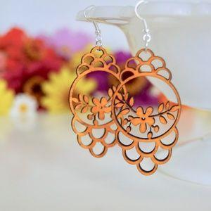 Jewelry - Lightweight Wooden Earrings